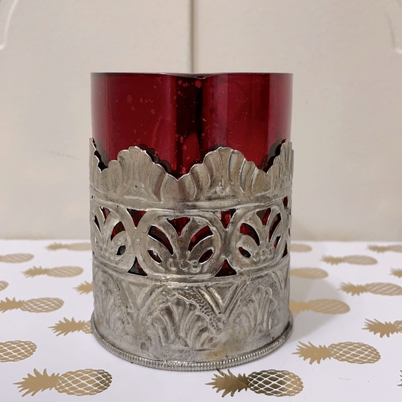 BRAND NEW POTTERY BARN CANDLE HOLDER